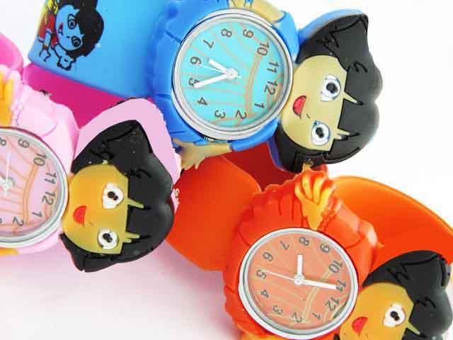 خرید آنلاین ساعت بچه گانه عروسکی فانتزی دخترانه کودکانه