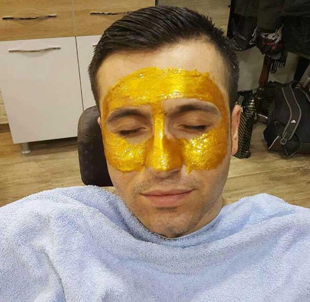 خرید ماسک صورت طلا