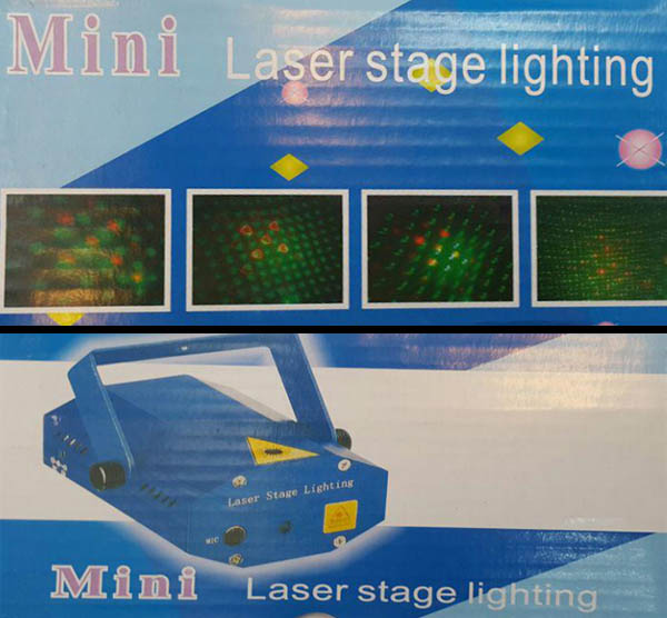 خرید دستگاه لیزر رقص نور