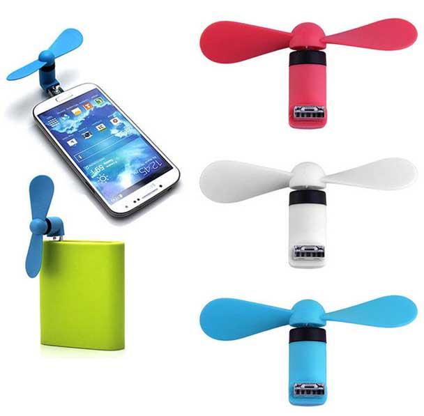 مینی پنکه همراه یو اس بی - قابل اتصال به گوشی