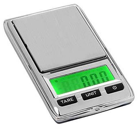 ترازوی جیبی زرگری سه صفر برای وزن کردن تا 500 گرم وزن