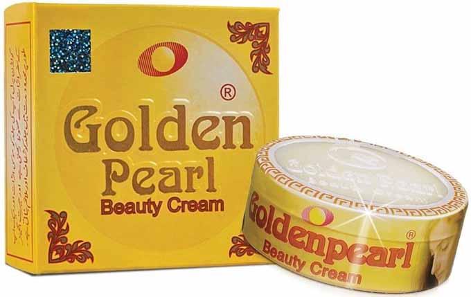 کرم سفید کننده و ضد جوش گلدن پرل Golden Pearl
