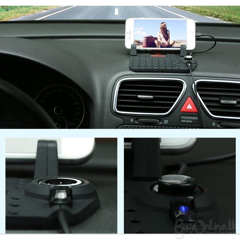 استند و پایه نگه دارنده موبایل داشبورد خودرو Remax