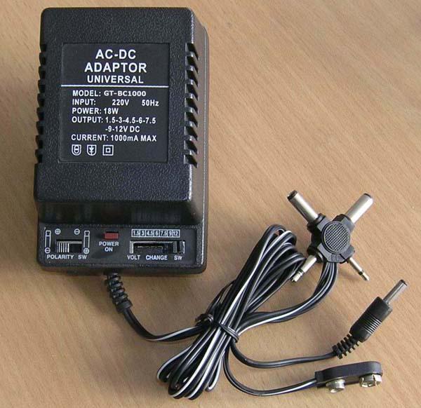 آداپتور با ولتاژ متغیر