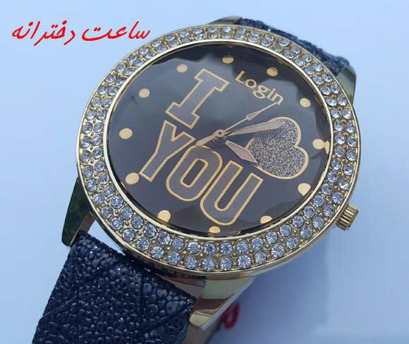 ساعت مچی رنگ مشکی