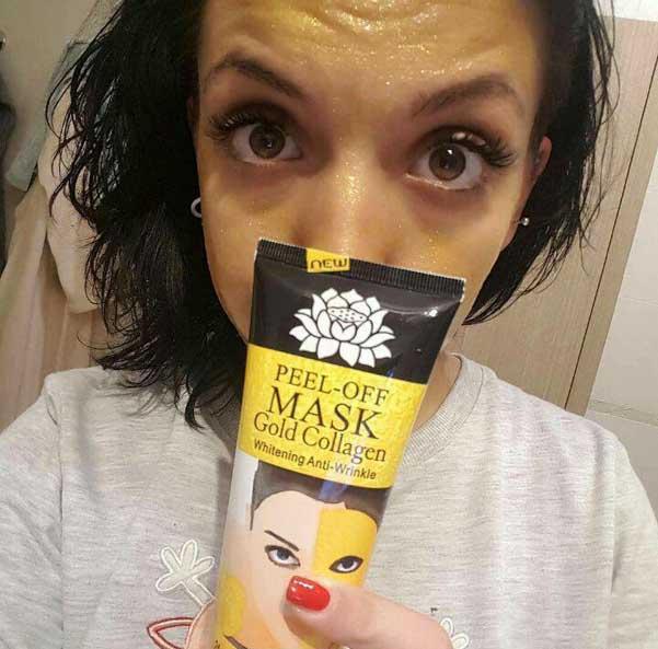 خرید ماسک شنی طلا