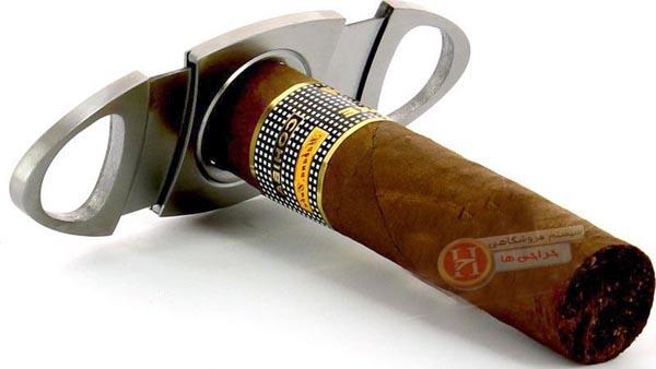 کاتر و قیچی سیگار برگ - با بدنه فلزی